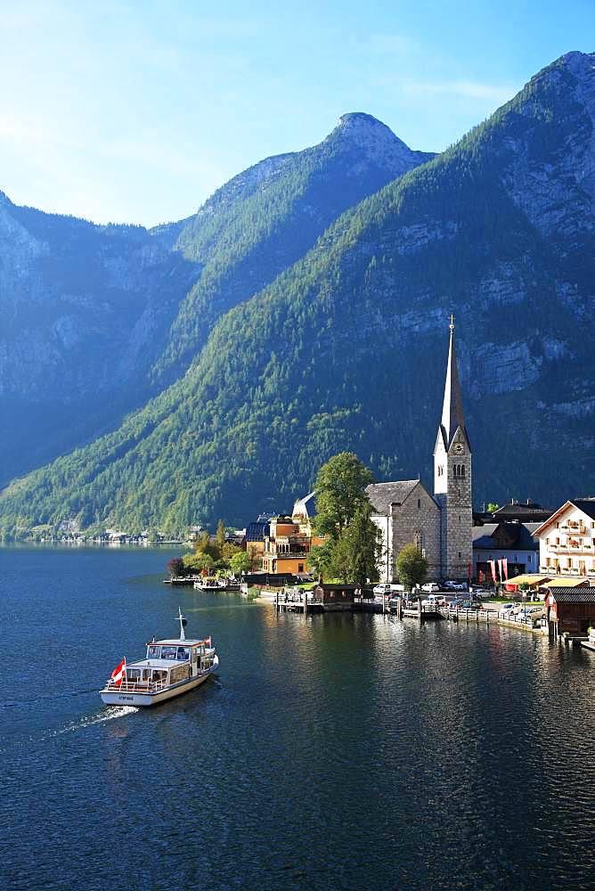 Austria, Salzkammergut, Hallstadt, UNESCO World Heritage Site - 1172-3982