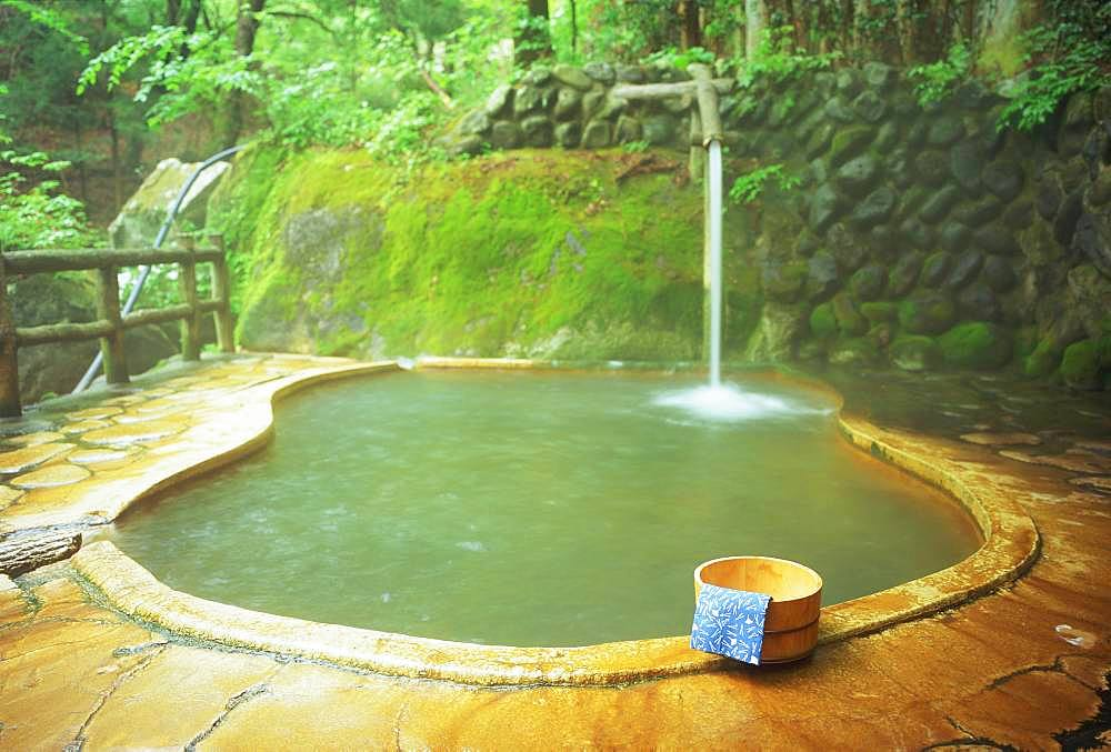 Japanese hot spring