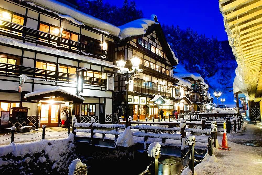 Ginzan Onsen, Yamagata, Japan