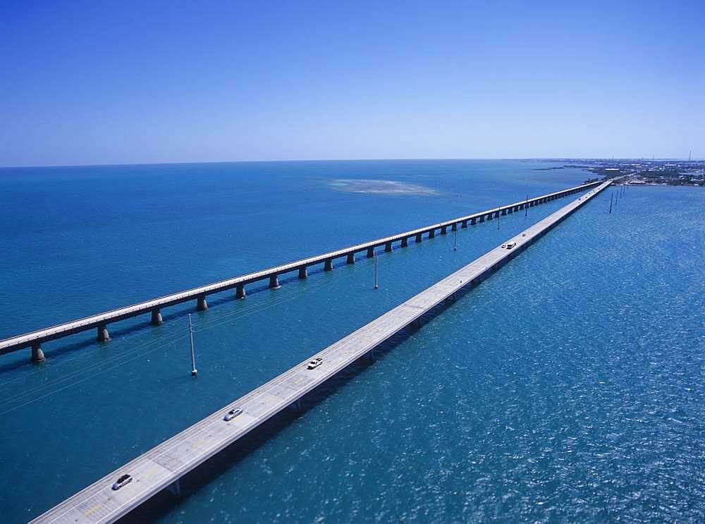 Seven mile Bridge, America