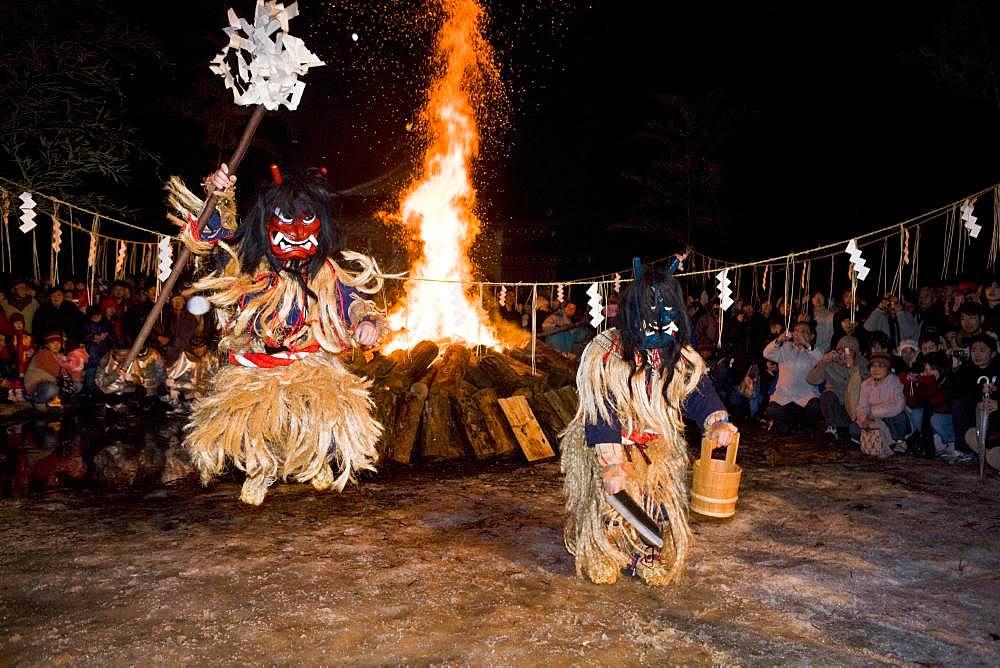 Namahagesedo Festival, Oga Peninsula, Akita