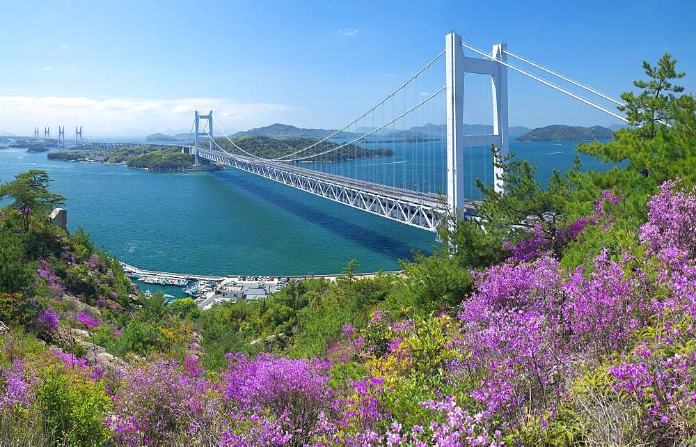 Great Seto Bridge, Okayama, Japan
