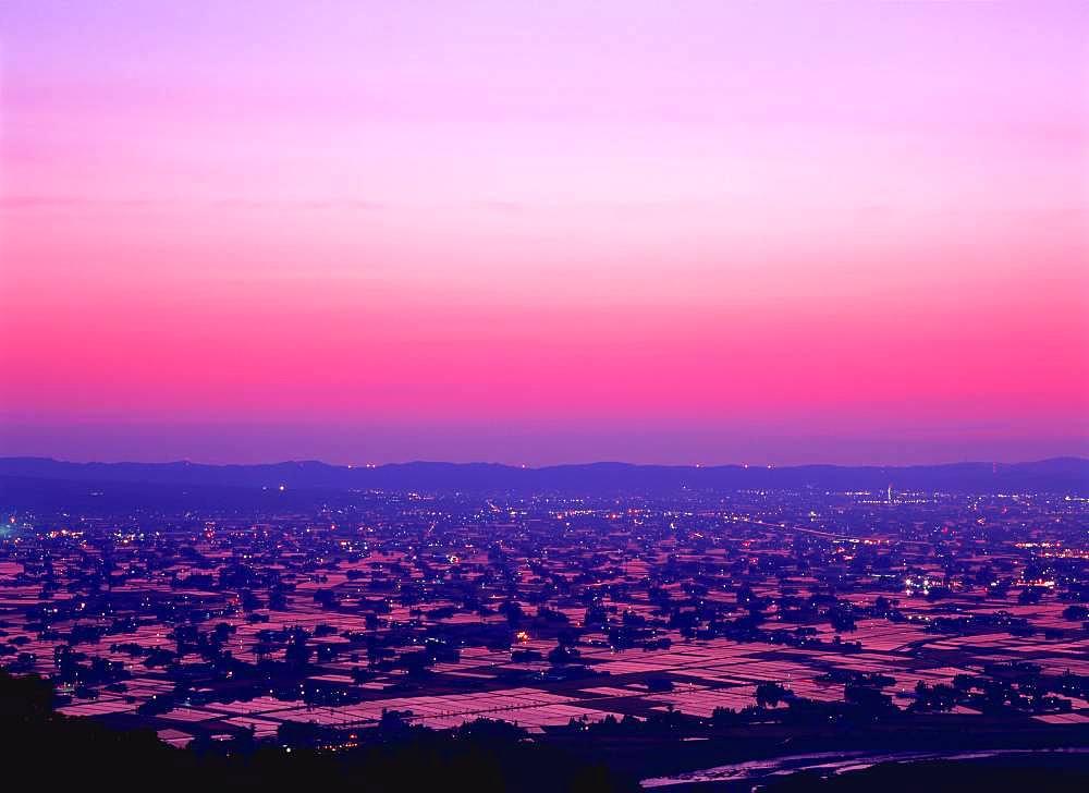 Tonami Plain, Toyama, Japan