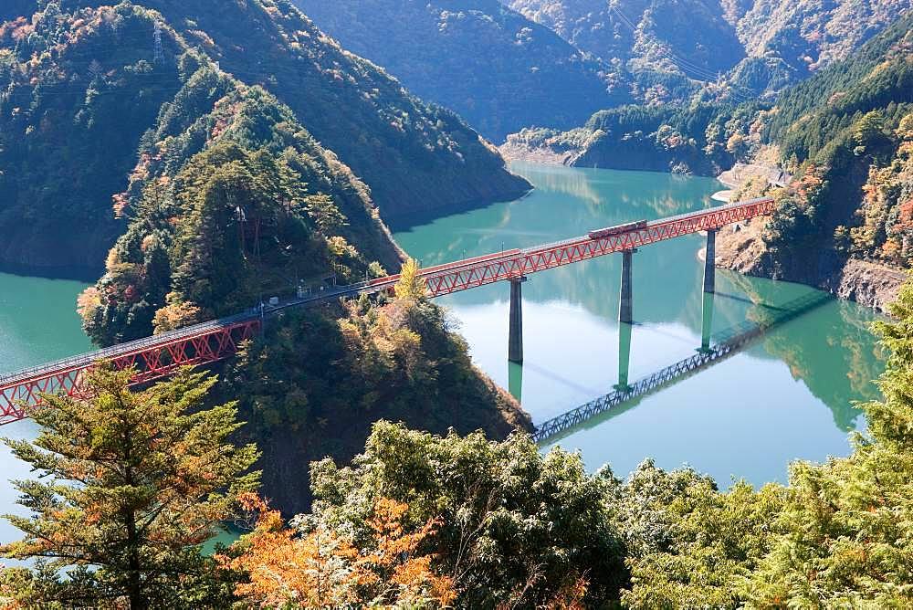 Oigawa Railway, Shizuoka, Japan