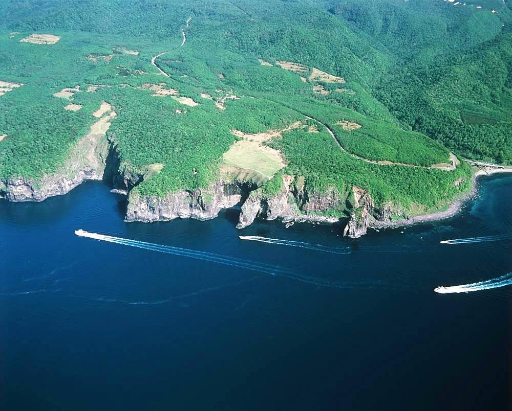 Puyuni Cape, Hokkaido, Japan