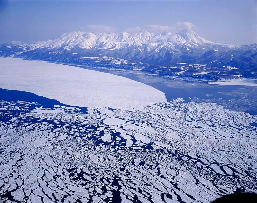 Shiretoko Mountain Range, Hokkaido, Japan