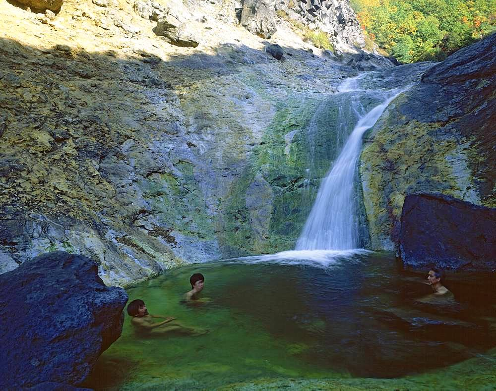 Kamuiwakka Falls, Hokkaido, Japan