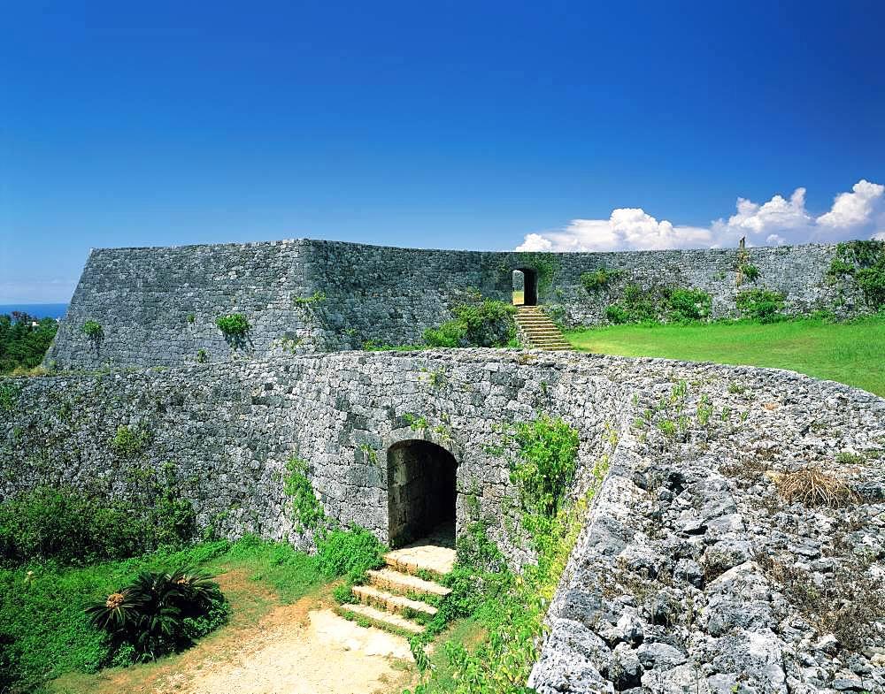 Zakimi Castle Site, Okinawa, Japan