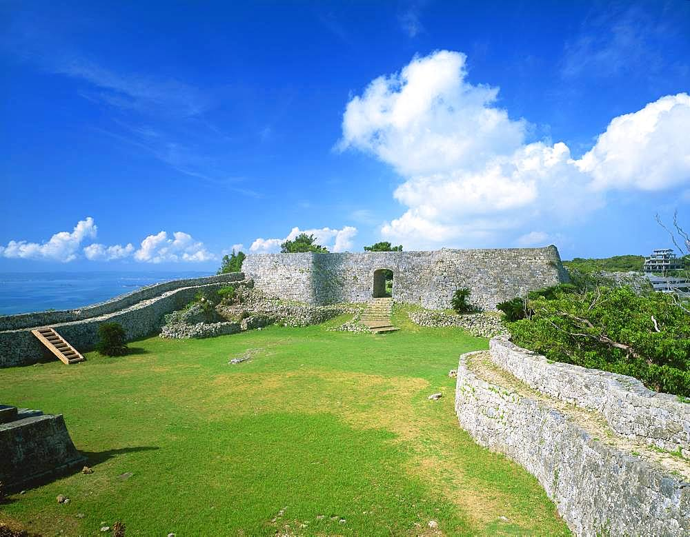 Nakagusuku Castle Site, Okinawa, Japan