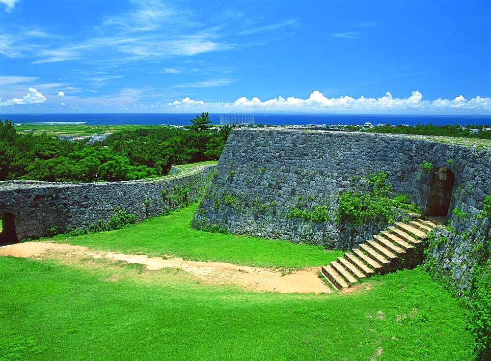 Zakimi Castle Site, Okinawa, Japan