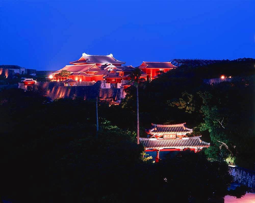 Shuri Castle Site, Okinawa, Japan