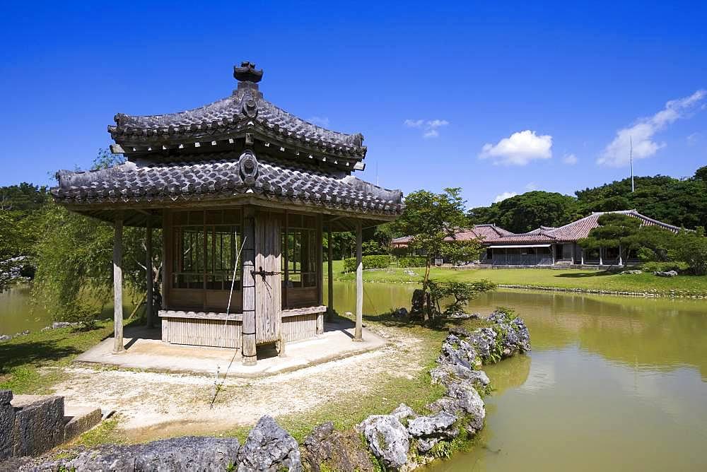 Shikinaen, Okinawa, Japan