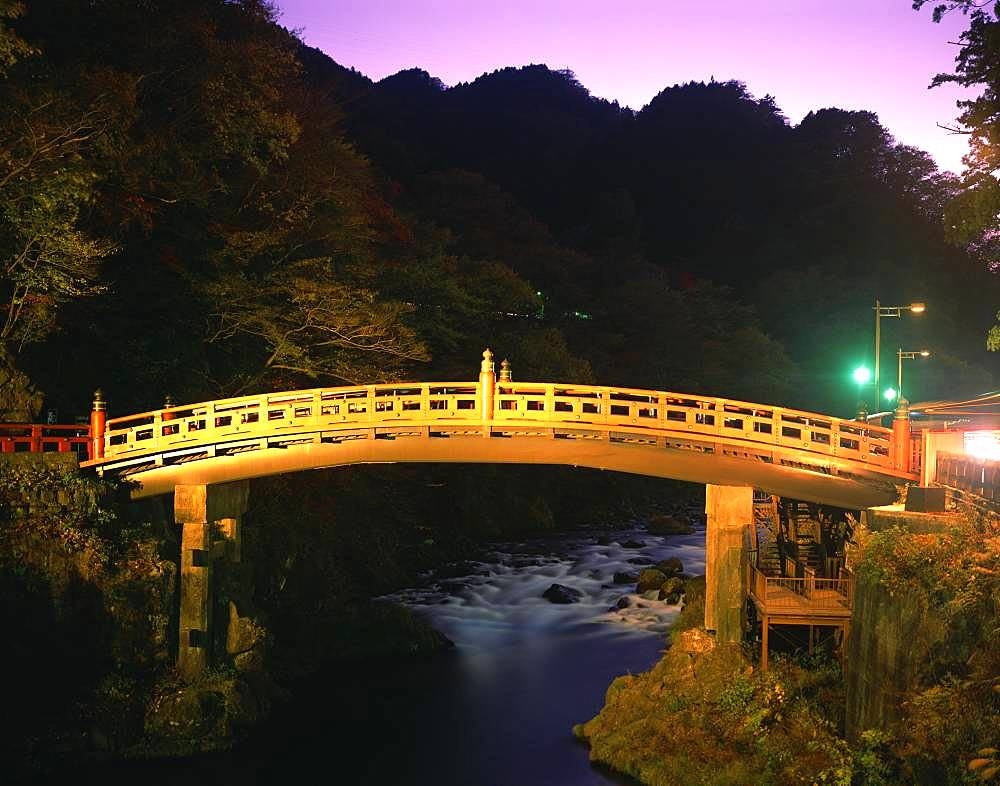 Shinkyo Bridge, Tochigi, Japan