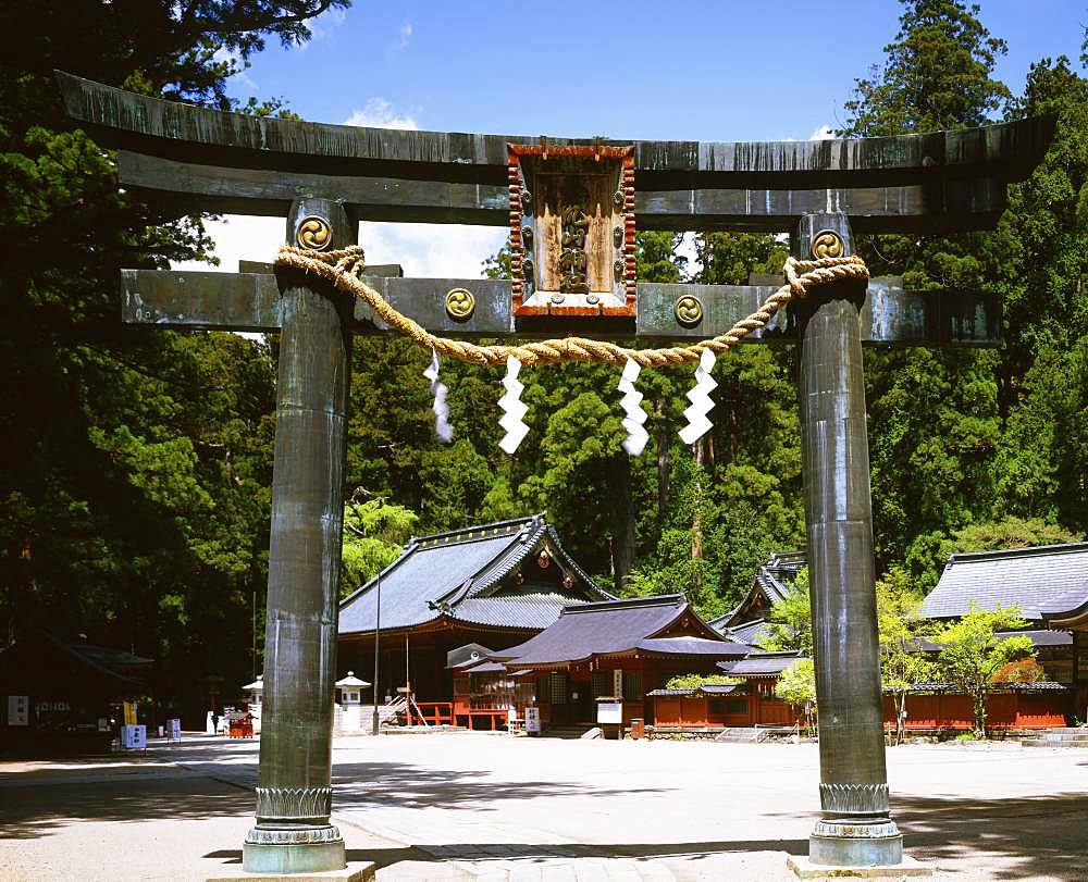 Nikko Futarasan Shrine, Tochigi, Japan