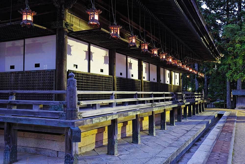 Miedou, Kongobuji Temple, Wakayama, Japan