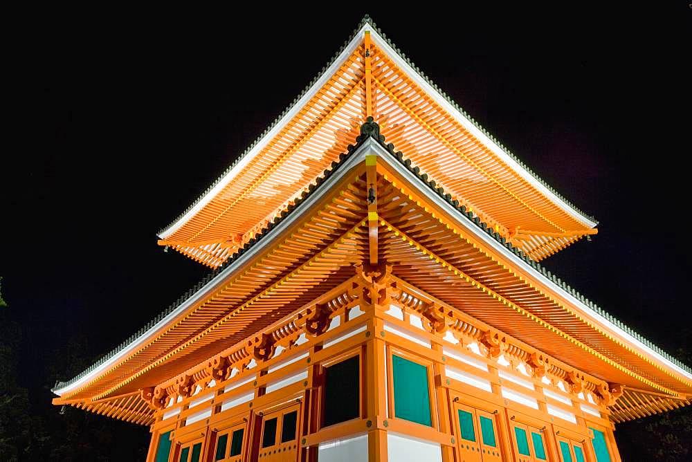 Konpon Daito, Kongobuji Temple, Wakayama, Japan