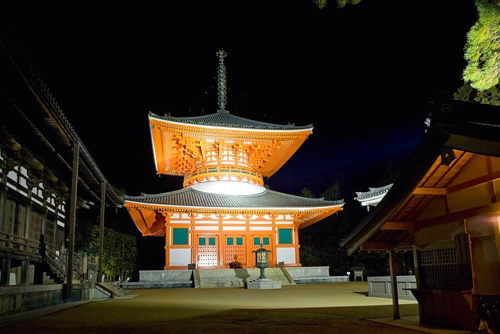 Konpon Daito, Kongobuji Temple, Wakayama, Japan - 1172-4847
