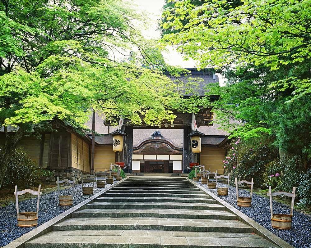 Kongobuji Temple, Wakayama, Japan