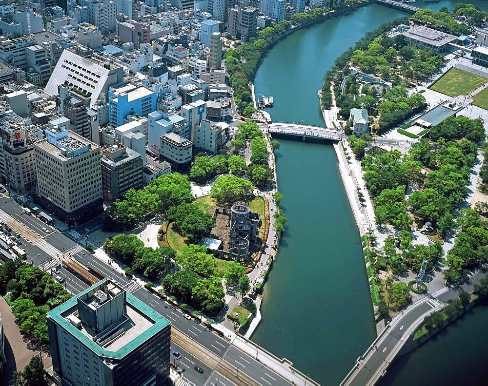 Hiroshima Peace Memorial, Hiroshima Prefecture, Japan