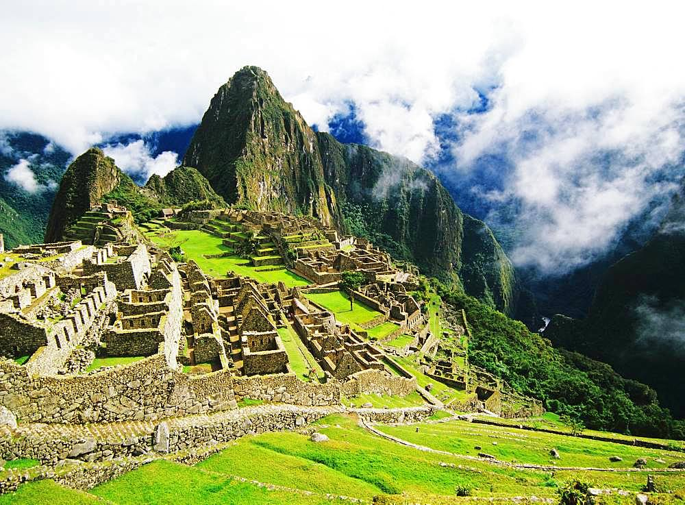 Historic Sanctuary, Machu Picchu, Peru