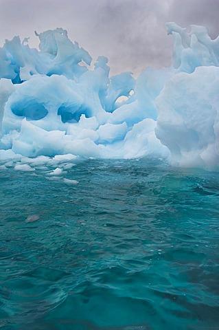 Melting iceberg, East Greenland