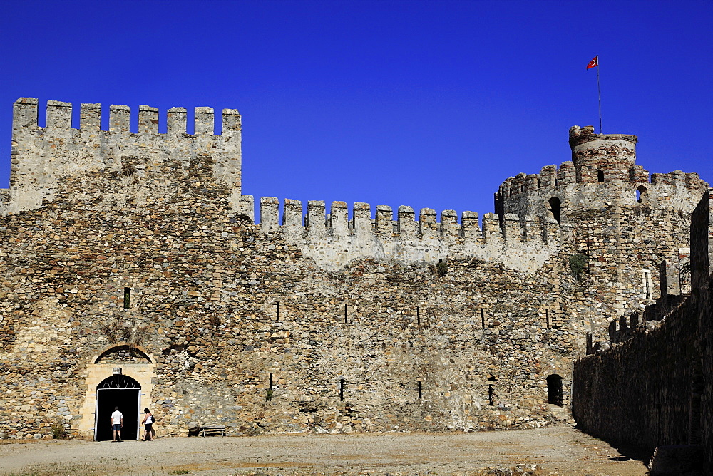 Entrance of Mamure Castle in Anamur, Mersin Province, Turkey