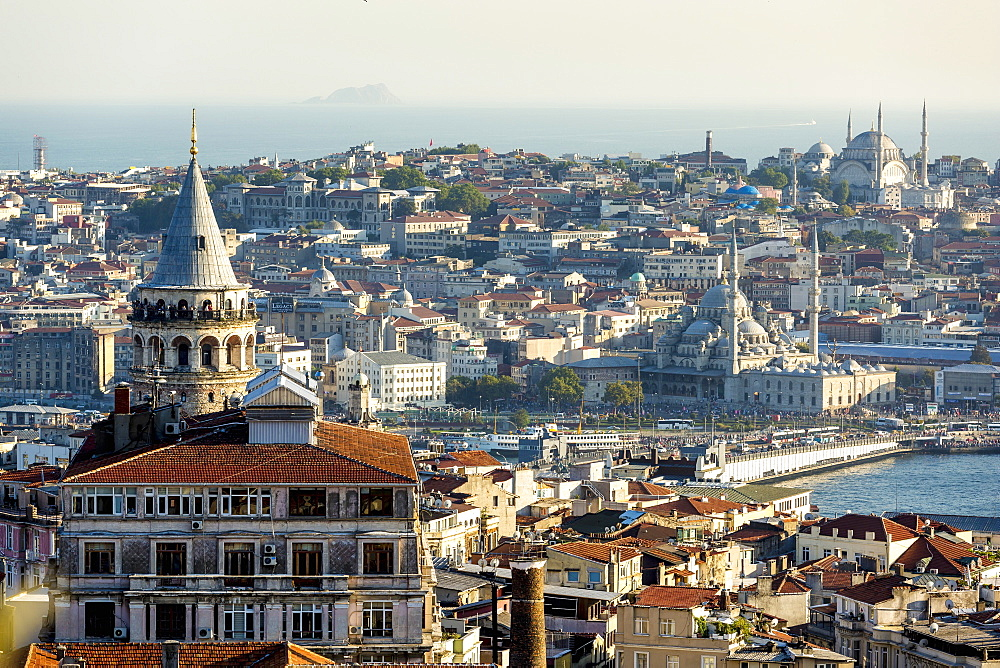 A view of the city, Istanbul, Turkey