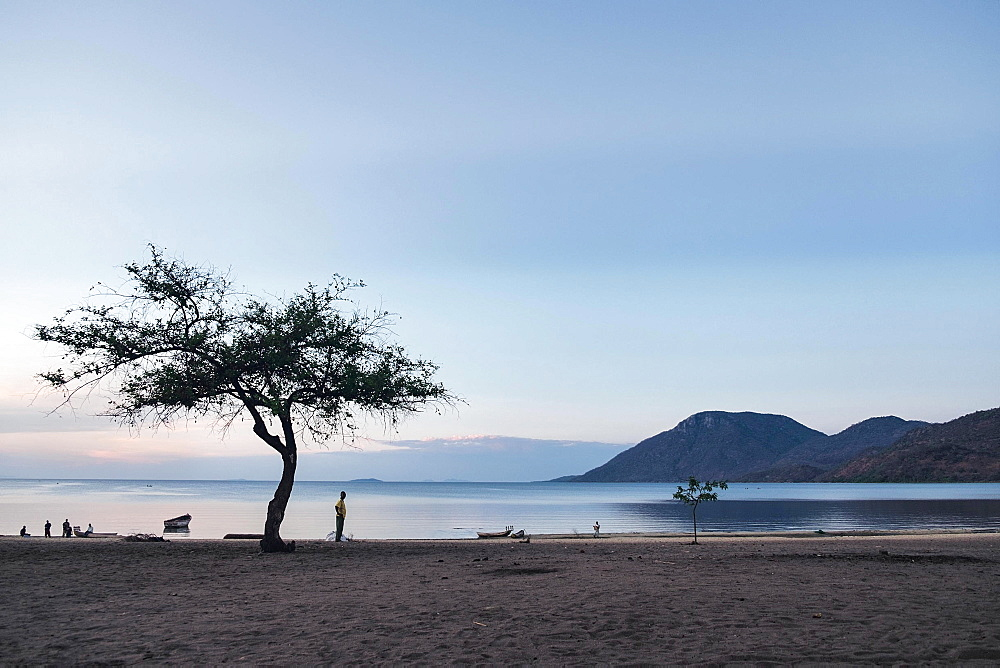 Lake Malawi in the morning (East Africa)