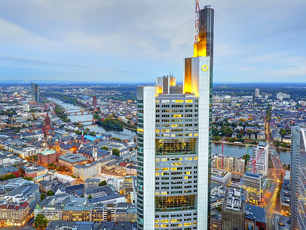 Commerzbank, Frankfurt am Main, Germany
