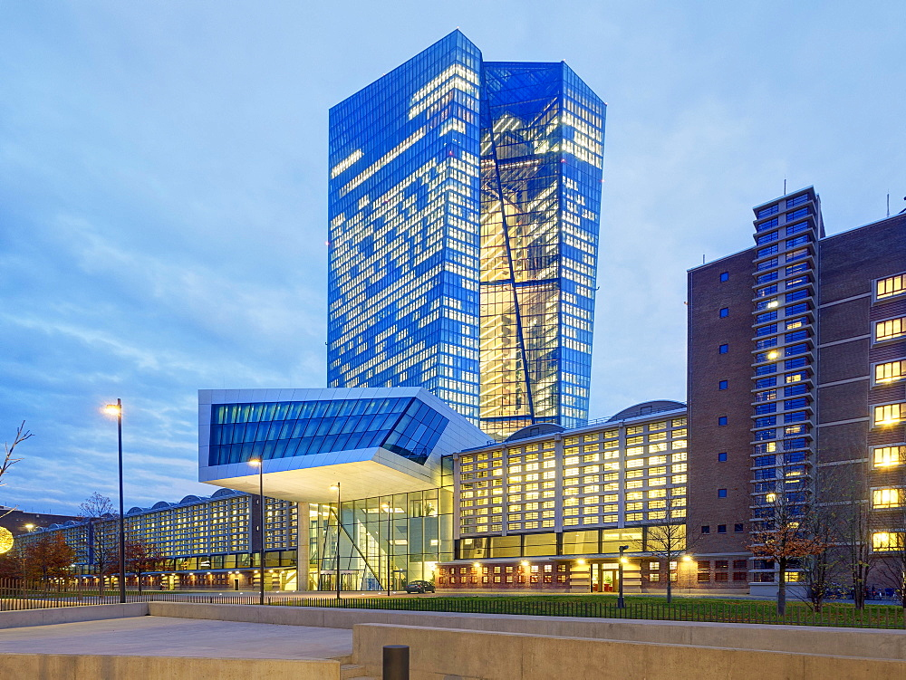 The European Central Bank, Frankfurt am Main, Germany - 1175-1432