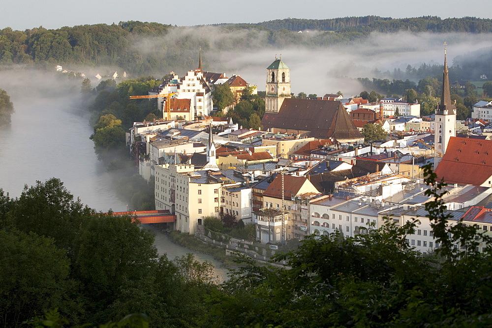 Wasserburg am Inn in Rosenheim, Bavaria, Germany