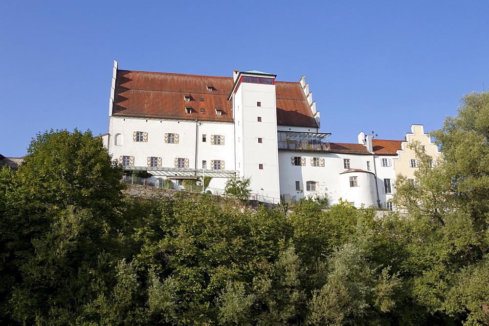Castle church of St Egidien, Chiemgau, Bavaria, Germany