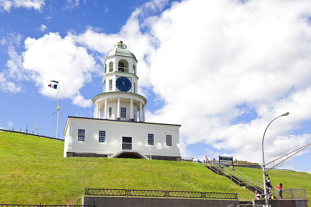View of Old Town Clock in Halifax, Nova Scotia, Canada