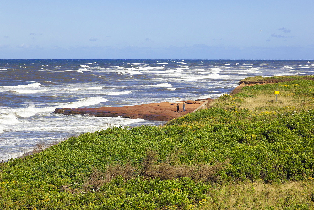 View of Brackley-Dalvay, Prince Edward island National park, Canada
