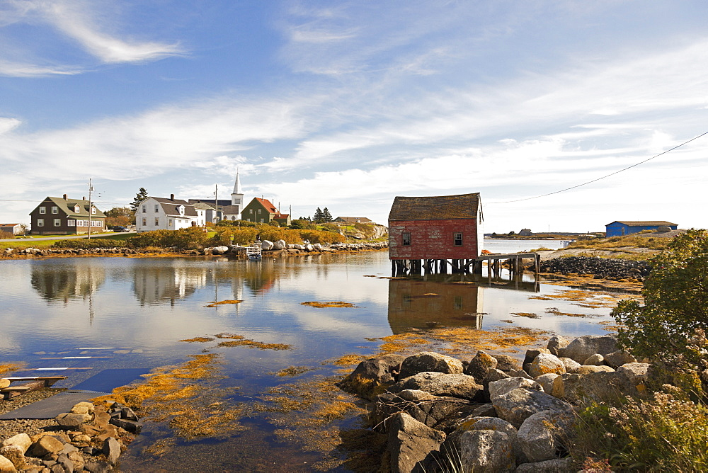 View of Village near Halifax, Nova Scotia, Canada