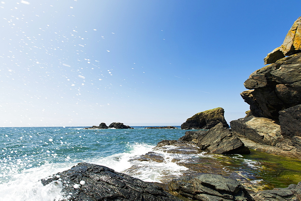 Lizard Point, the southernmost point of England in Cornwall