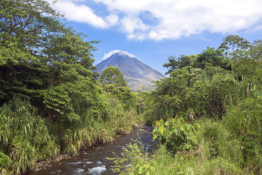 Arenal volcano, La Fortuna, Alajuela, Costa Rica, Central America