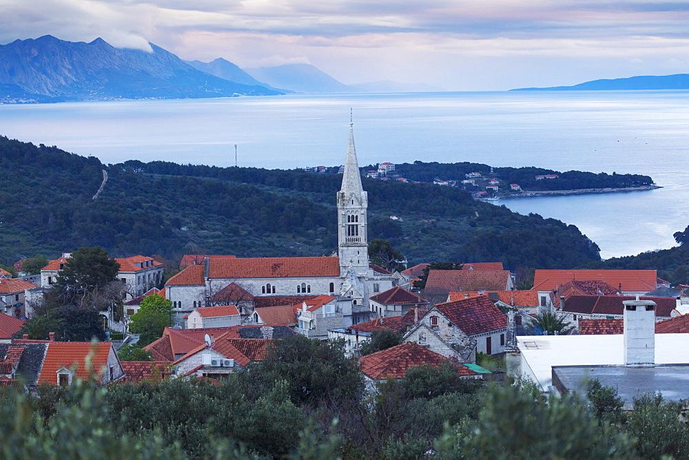 Selca town, Brac, Dalmatia, Croatia, Europe