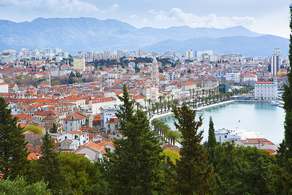 Stock travel photo: Split harbour, Dalmatia, Croatia