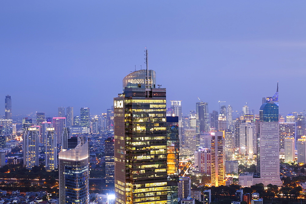 Skyline, Jakarta, Indonesia, Southeast Asia