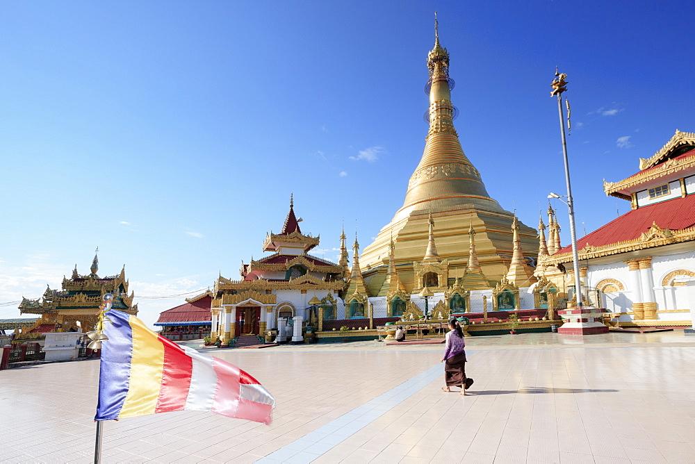 Kyaik Tan Lan pagoda in Mawlamyine, Mon, Myanmar (Burma), Southeast Asia