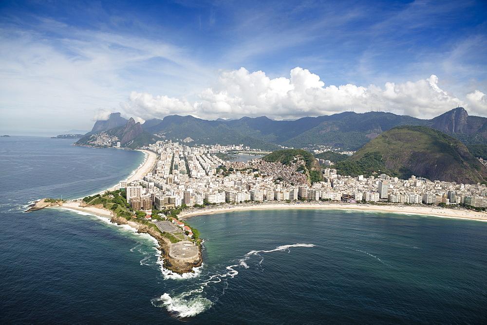 Aerial, Rio de Janeiro, Brazil, South America