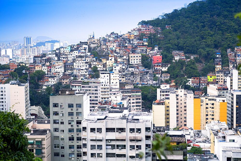 Tabajaras favela, Rio de Janeiro, Brazil, South America