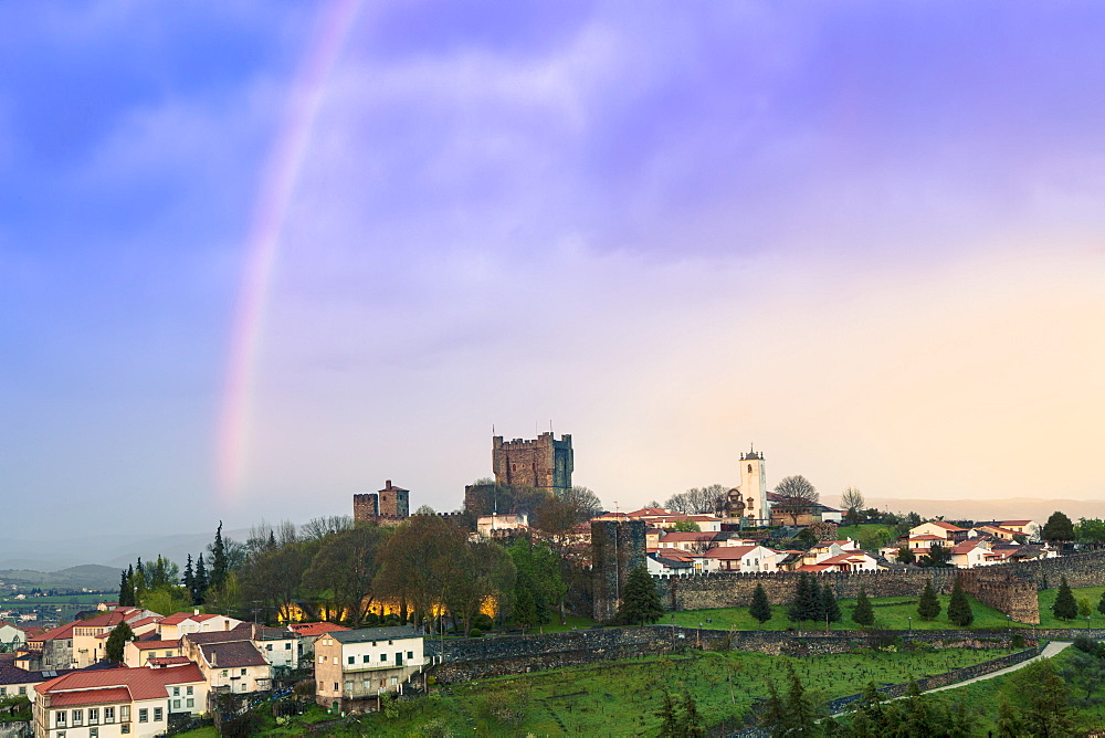 Braganca Castle, Tras-os-Montes, Portugal, Europe