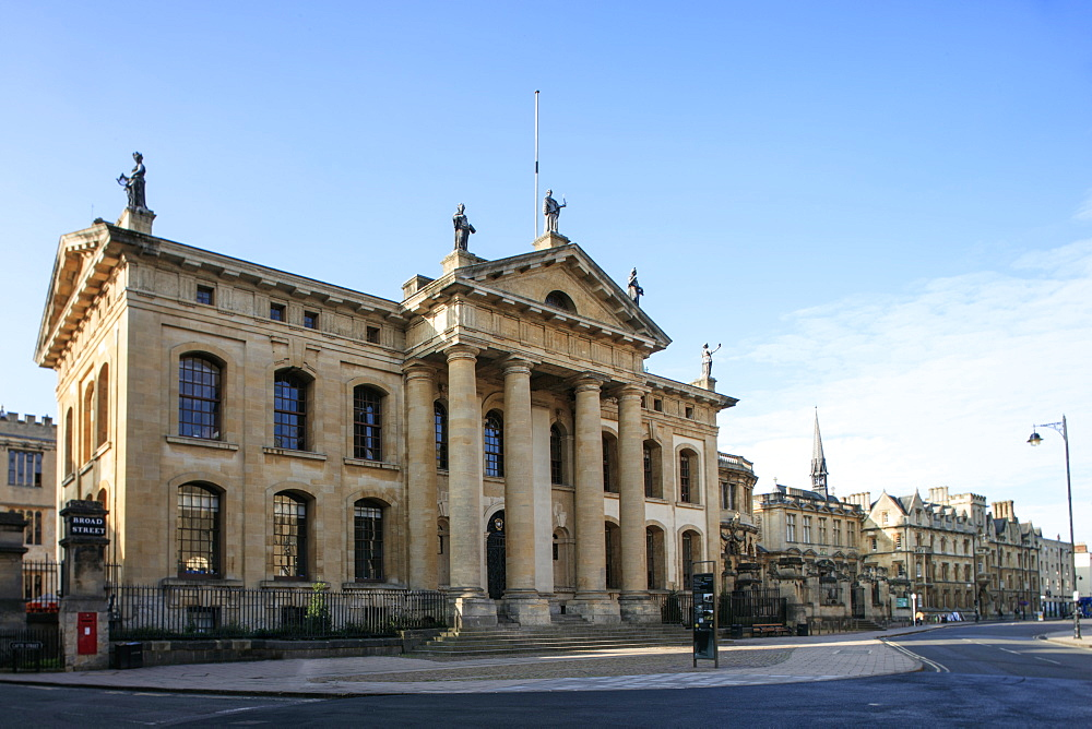 The Clarendon Building, Oxford, Oxfordshire, England, United Kingdom, Europe - 1176-807