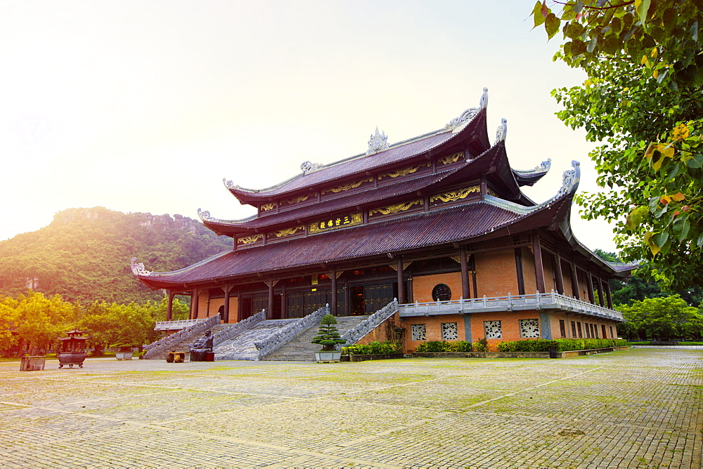 Gia Sinh, pagoda at Bai Dinh Mahayana Buddhist Temple near Tam Coc, Ninh Binh, Vietnam, Indochina, Southeast Asia, Asia - 1176-861