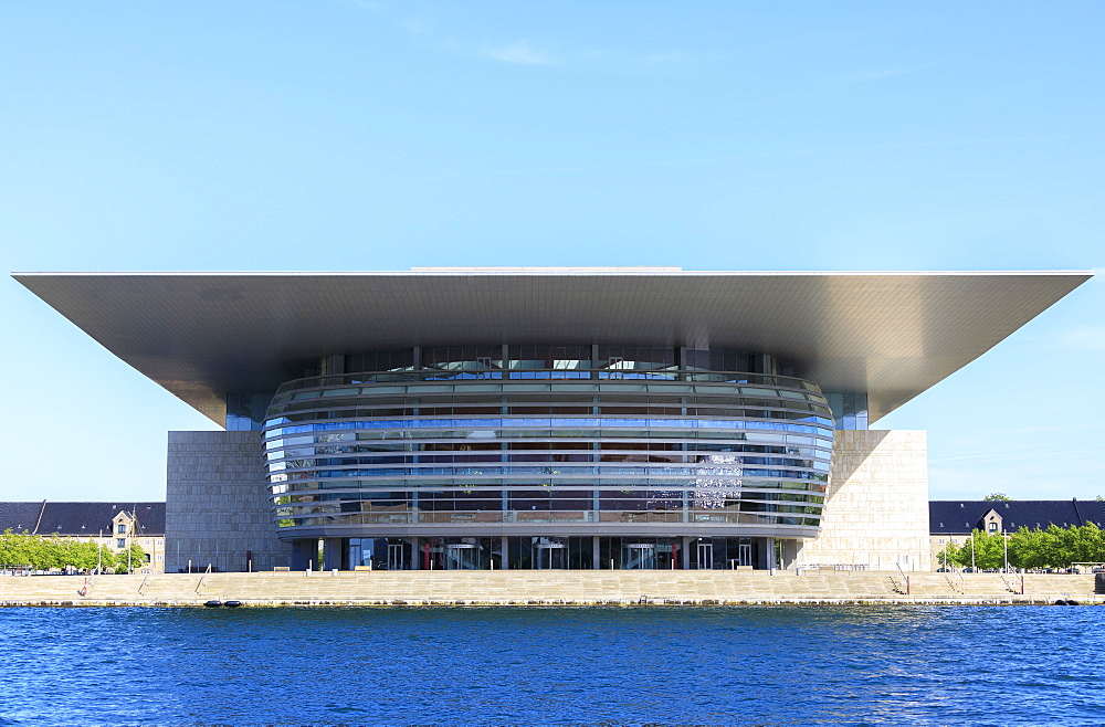 The Copenhagen Opera House (Operaen), Island of Holmen, Copenhagen, Denmark, Europe - 1179-2428