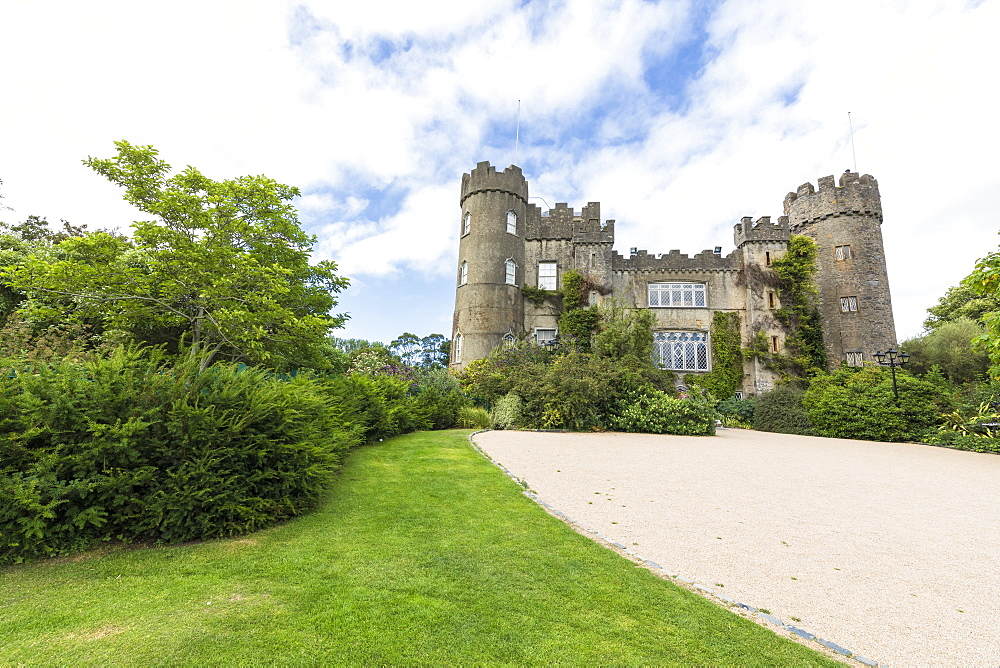 Malahide Castle and gardens, Dublin, Ireland