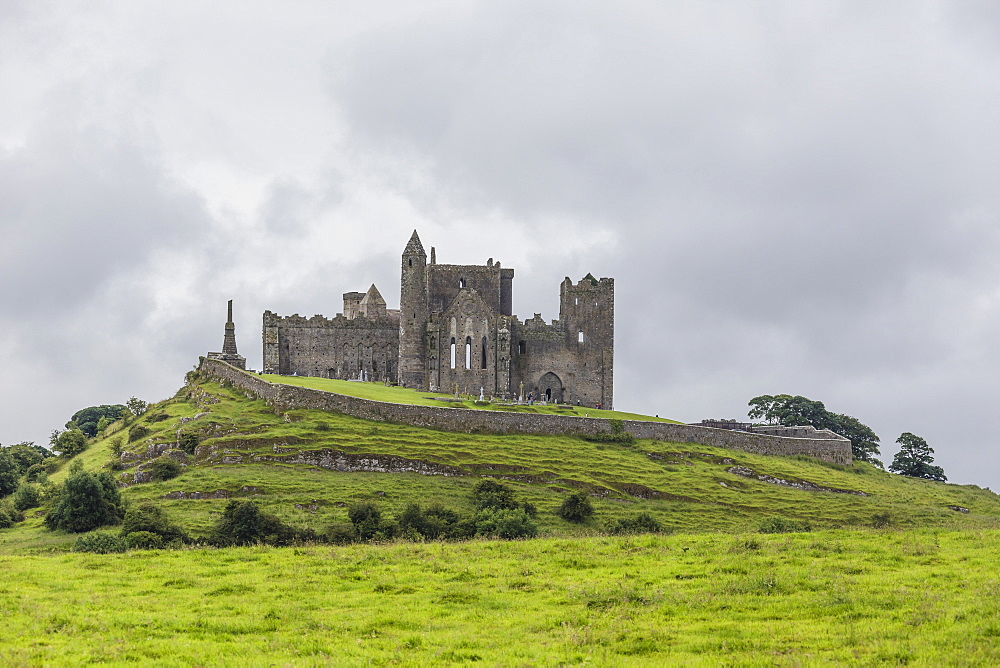 The Celtic cathedral Rock of Cashel, Tipperary, Ireland
