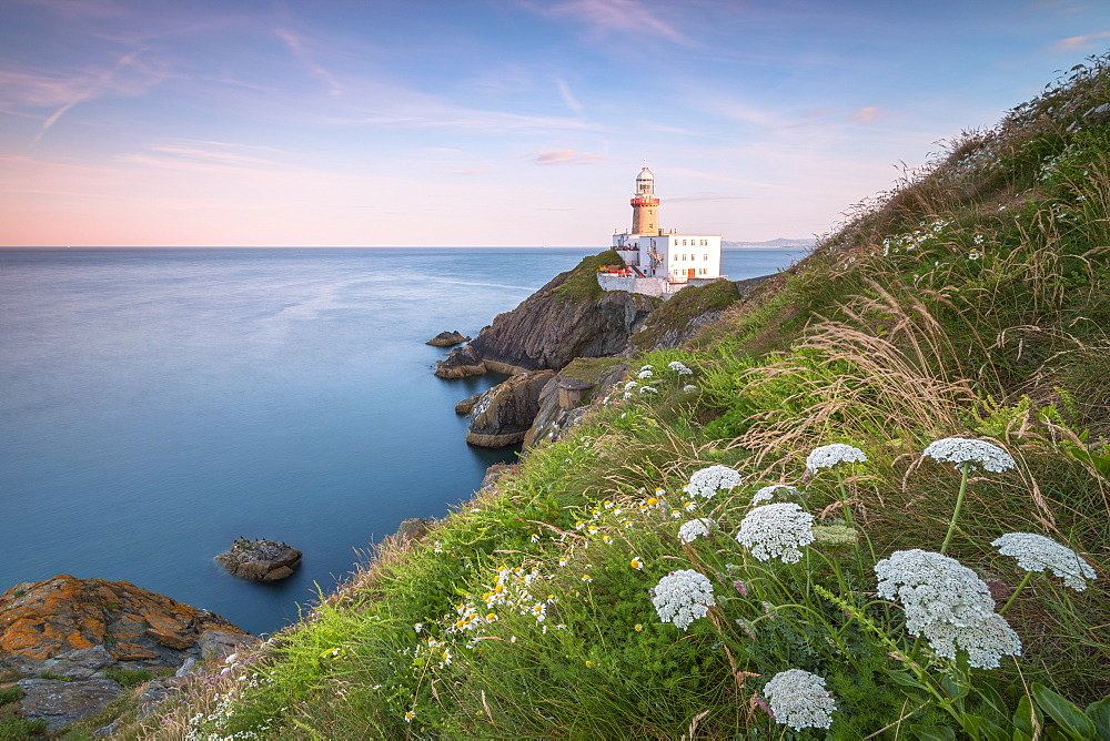 Baily Lighthouse, Howth, County Dublin, Republic of Ireland, Europe